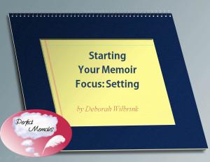 Memoir PPT Setting lesson 1