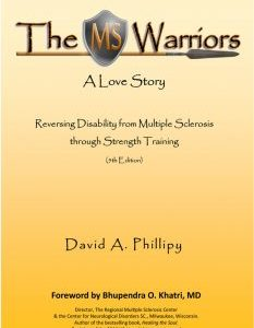 book about strength training as a means to assist MS sufferers